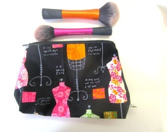 Zippered Make up pouch!