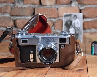 Vintage camera - Working camera - Viewfinder camera - Kiev 4 - Lomo camera - 35mm film Soviet camera - Travel camera  - Kiev camera