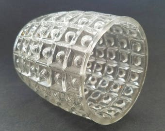 Vintage Bubble in Square Glass Lamp Shade