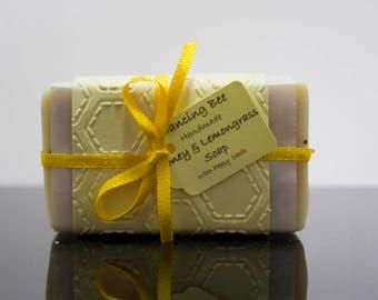 Hand Made Honey and Lemon Grass Soap 80 g