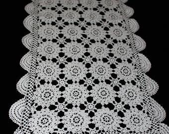 Crochet  Doilie, Table Cloth, Table runner