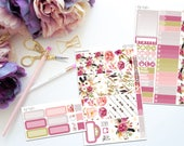 Bloom Personal Sized Weekly Kit -- Matte Planner Stickers