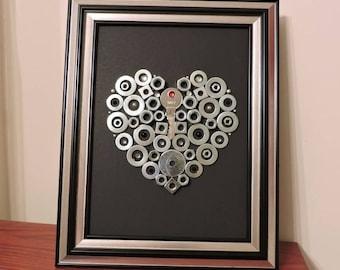 Key to my Heart frame