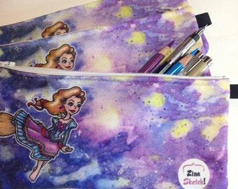 Flight Night Witchy Pencil/cosmetics bag