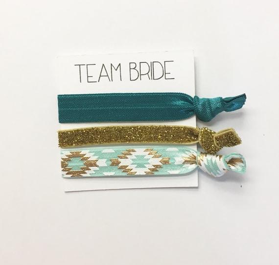 Bridesmaid hair tie favors//hair tie card, hair tie favors, bridesmaid hair ties, wedding, bridesmaid bag, bachelorette party, party favor