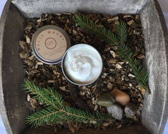 North Woods Shea Body Butter Lotion Essential Oils Blend