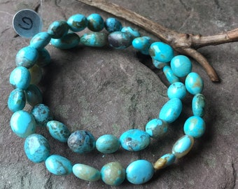 Authentic Kingman Turquoise, stabilized Turquoise , natural stone, American turquoise