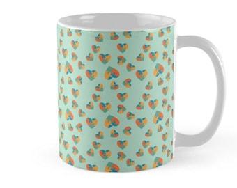 Puzzle Hearts Mug