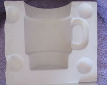 Unknown Mfr 533(Written on it) - Plain Stacking Coffee Mug Ceramic Mold S6
