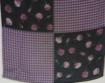 39.  Pretty sheer vintage scarf