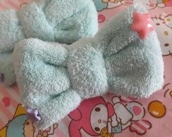 Plush Bow (mint)