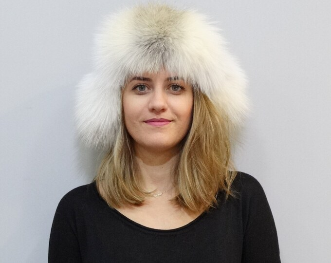 Ushanka,Russian Fur Hat F314