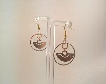S - 477 steampunk earrings