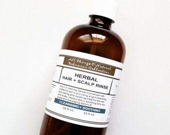 Herbal ACV Hair + Scalp Rinse, Herbal Rinse, Hair Rinse, SCALP Rinse, VEGAN, Oraganic Hair Care, Ayurveda, Herbal Hair Rinse