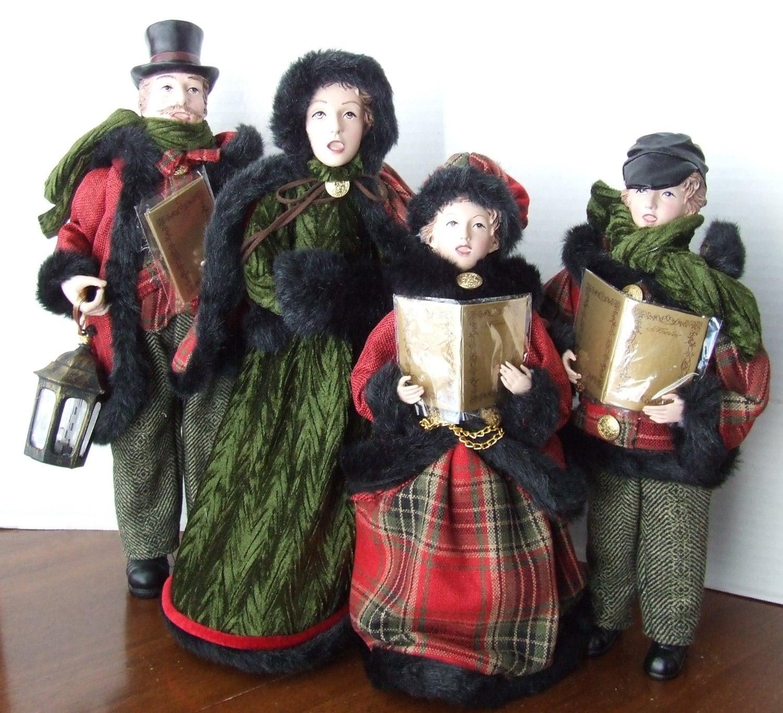 Dickens Era Christmas Carolers Wood Standups Woodworking: Christmas Carolers Family Of Four Christmas Carolers Family
