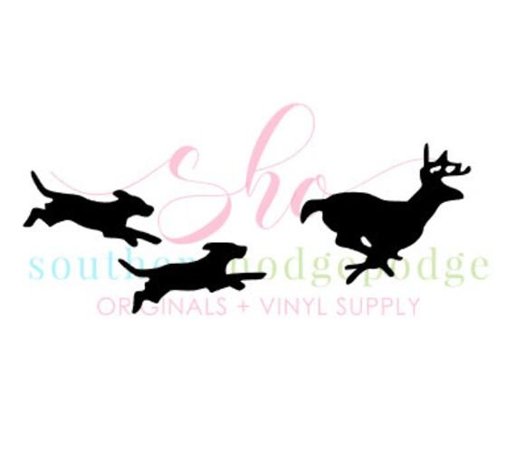 dogs running deer svg design svg file dxf format svg design dogs chasing deer dogs deer dog svg deer svg silhouette