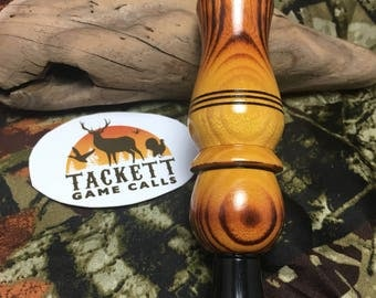 Scorched Osage Double Reed Duck Call