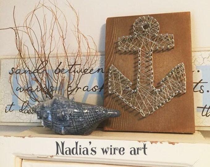 Anchor wire art