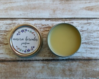 Solid Perfume by Wychbury Ave / Perfume Oil / Essential Oil Perfume / Beeswax Perfume / Essential Oil Perfume Oil / Solid Parfum