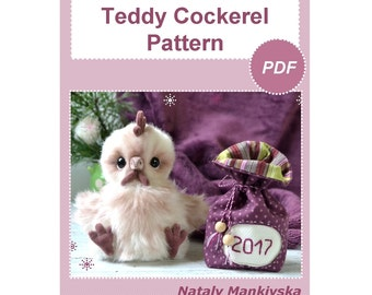 Teddy Cockerel Pattern in English