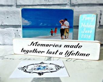 Family Holiday Photo Blocks