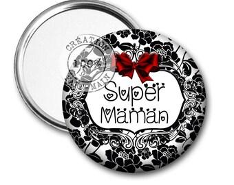 1 Pocket mirror or bag super MOM