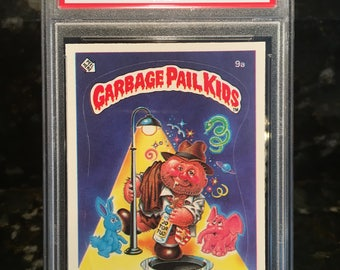 "1985 GARBAGE Pail Kids ""Boozin Bruce"" - Graded & Authenticated - PSA 10 Gem Mint - One of the most popular GPK cards ever!"