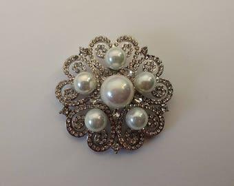 Stunning Pearl Brooch