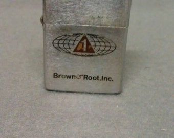 Brown & Root Inc. Zippo Lighter