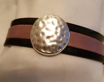 Leather strap 20 mm with Zierzeil LB20-04