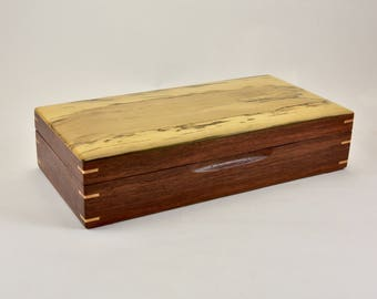 Trinket Box, Australian handcrafted box, Jewellery storage, gift for him or her.