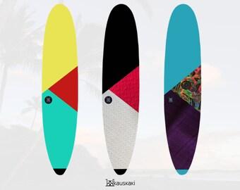 Meridians | Longboard Surfboard Sock | Tropics