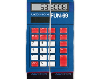 Function - Calculator Boobies Fashion Socks