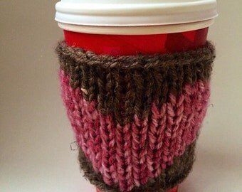 Coffee Mug Holder - Coffee Mug Sweater -Travel Mug Cozy - Coffee Sleeve - Cup Cozy - Coffee Sweater - Christmas Stocking Stuffer