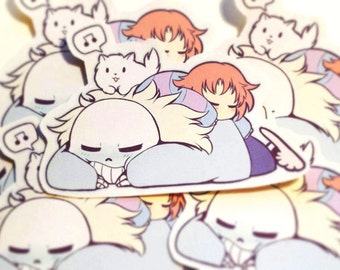 Undertale Sleepytime Sticker