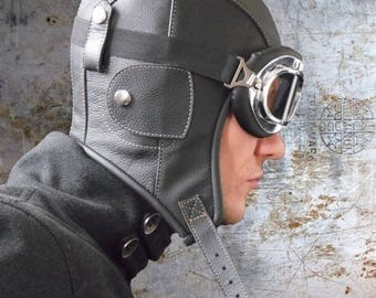 aviator hat sewing pattern, steampunk hat, pilot  hat , original aviator hat pattern tutorial
