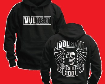 volbeat awesome concert rocker hoodie