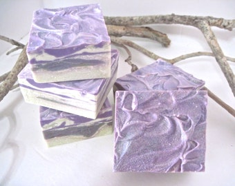 Lavender and Rosemary Shea butter Soap Bar.