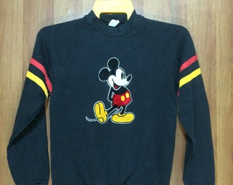 80s MICKEY MOUSE Disney Sweatshirt - Youth X-Large Size Chest 17""