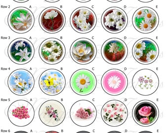 Daisies and Roses Needle Minder Designs