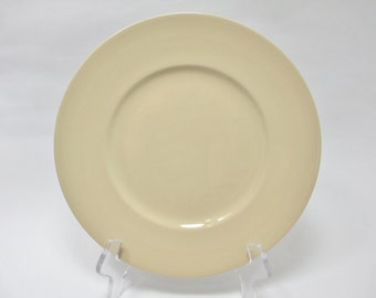 Wedgwood Drabware Dinner Plate Beige Older Mark Etruria & Barlaston Made in England 1983-1988 Beautiful Condition FREE SHIP USA