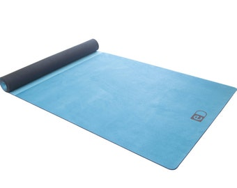 Two Colour Blue / Yoga Mat / Gift for him / Yoga Gift / Gift for her