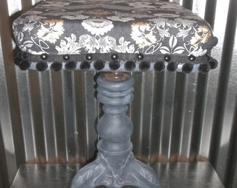 Vintage Stool Swivel Stool Vintage Cast Iron Piano Stool 19th Century Stool Victorian Stool Shabby Chic Decor TONK Chicago Antique Stool