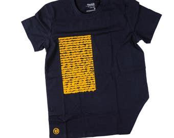 Castlegate design on Fairtrade Organic t-shirt