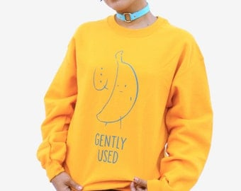 Gently Used Banana Sweater