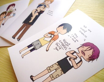 Free! ∙ Iwatobi swimming anime prints ∙ Mini prints