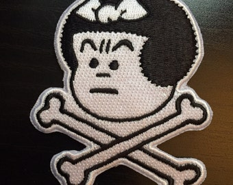 Nancy Embroidered Iron-on Patch