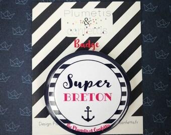 Badge Super breton