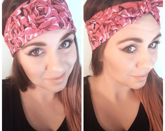 Rosebud in Bloom Headband