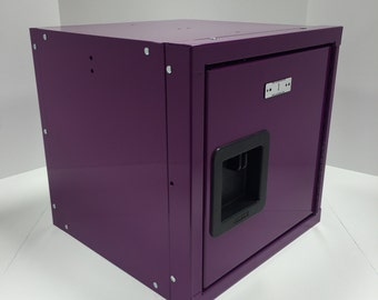 "ULocker 15""x15""x15"" All Purple Locker Cube"